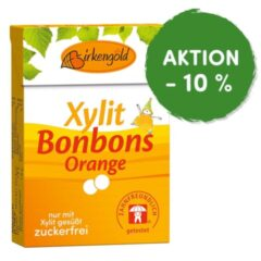 Produkt Xylit Bonbons Orange zuckerfrei