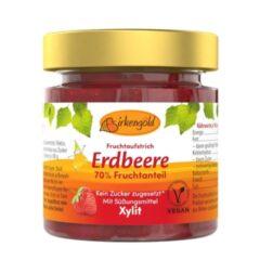 Produkt Erdbeer Marmelade mit Xylit 200 g