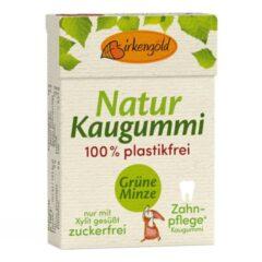 Produkt Natur Kaugummi Grüne Minze plastikfrei