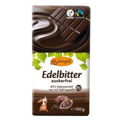 Produkt Xylit Schokolade Edelbitter 100 g