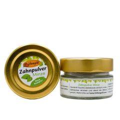 Produkt Zahnpulver Minze 30 g im Glas (plastikfrei)