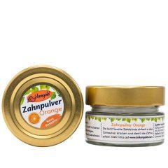 Produkt Zahnpulver Orange 30 g im Glas (plastikfrei)