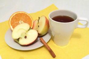 Rezept Alkoholfreier Apfelpunsch mit Xylit, Kinderpunsch, Adventpunsch, Warmer Punsch, Orangenpunsch