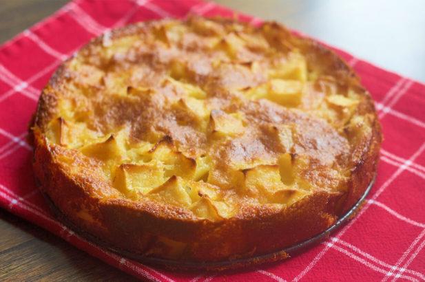 Rezept Apfel-Birne-Mohnkuchen mit Xylit