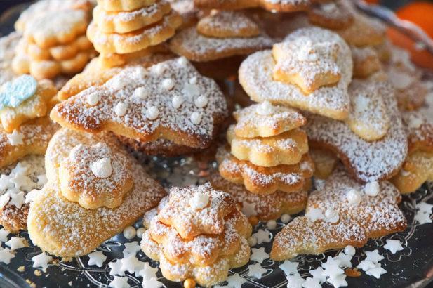 Rezept Butterkekse ideal für Diabetiker, zuckerfrei, ohne Zucker, Einfache Kekse, Keksrezept