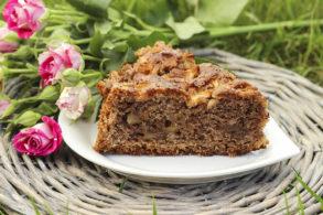 Rezept Nuss-Apfelkuchen mit Birkenzucker