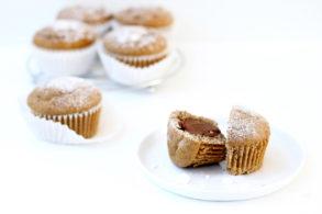 Schokomuffins, Zimtmuffins, Zimtkuchen, ohne Zucker