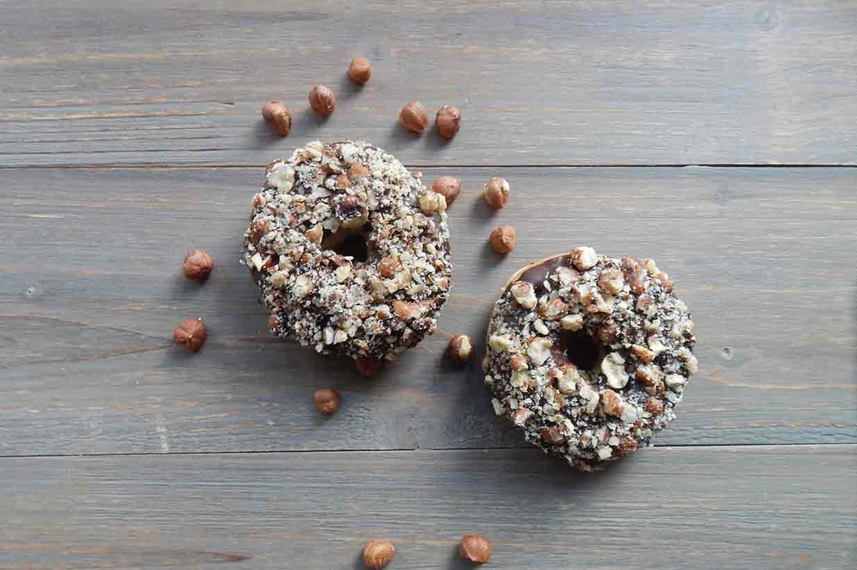 Donuts mit Birkenzucker