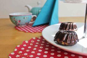 Rezept MiniMamorGugels mit Schokolade, Marmorkuchen, Marmorguglhupf, Guglhupf
