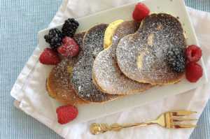 Rezept Pancakes mit Kokosmehl mit Birkenzucker