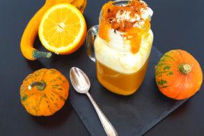 Rezept Pumpkin Spice Latte vegan