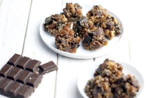 Rezept Energiekugeln mit Schokolade vegan