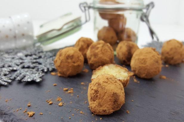 Rezept Marzipankartoffeln mit Rohkakao mit Birkenzucker