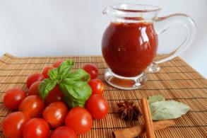 Rezept Würziges Tomatenketchup mit Birkenzucker