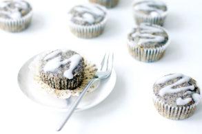 Rezept Zitronen-Mohn-Muffins ohne Zucker