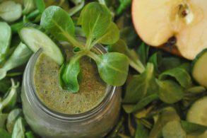 Rezept Grüner Smoothie detox mit Birkenzucker