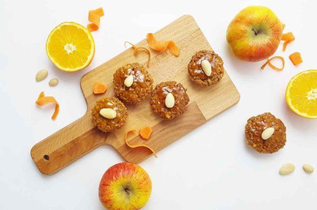 Rezept Muffins Apfel Karotte Mandel Orange mit Birkenzucker Xylit