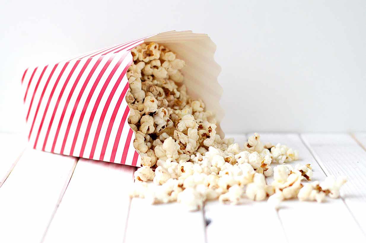 zimt popcorn mit xylit selber machen birkengold. Black Bedroom Furniture Sets. Home Design Ideas