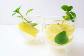 Rezept Tee Zitrone Minze mit Birkenzucker