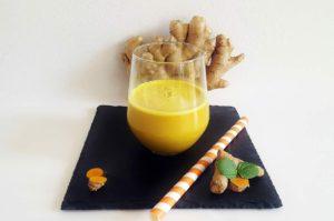 Rezept Goldene Milch Kurkuma Drink warm mit Xylit