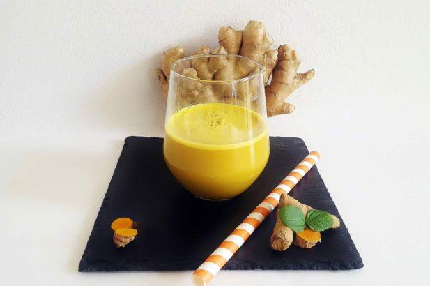Rezept Goldene Milch Kurkuma Drink mit Xylit vegan