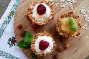 Rezept Muesli Cup Cakes Muffins zum Mitnehmen fettfrei