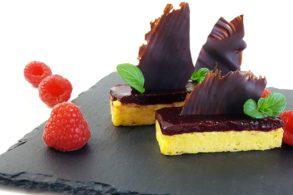 Rezept Cheesecake mit Beeren und Schokolade mit Birkenzucker
