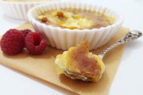 Flambierte Crème brûlée, Crème brûlée zucekrfrei, Klassische Crème brûlée
