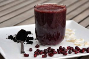 Rezept Kokos Granatapfel Smoothie ohne Zucker