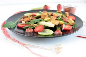 pikante Marmelade, Erdbeerchutney, Rhabarberchutney, ohne Zucker