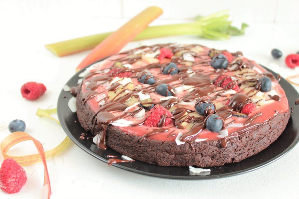 Schokoladekuchen, Veganer Schokokuchen, Schokokuchen ohne Zucker, ohne Mehl