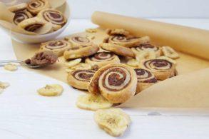 Schokoschnecken, Bananenschnecken, zuckerfreie Schnecken, mit Xylit, ohne Zucker, mit Birkenzucker, Einfache Schnecken