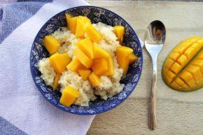 Süßer Couscous, Couscous exotisch, Kokoscouscous, Mangocouscous, zuckerfrei, ohne Zucker