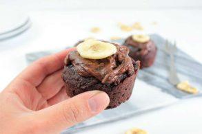 Haselnussmuffins, Zuckerfreie Muffins, Muffins ohne Zucker, Vegane Muffins