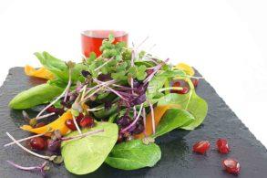 Granatapfel Vinaigrette, Granatapfel Marinade, Salatdressing, zuckerfrei, Fruchtiges Dressing, ohne Zucker