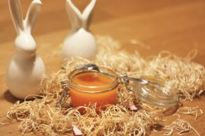 Exotische Marmelade, Osteraufstrich, Osterfruchtaufstrich, Karottenmarmelade, Ananasmarmelade, Apfelmarmelade, zuckerfrei, ohne Zucker