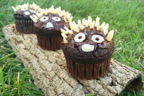 Schokoladenmuffins, Schokomuffins, Vegane Muffins, Tiermuffins, zuckerfrei, ohne Zucker
