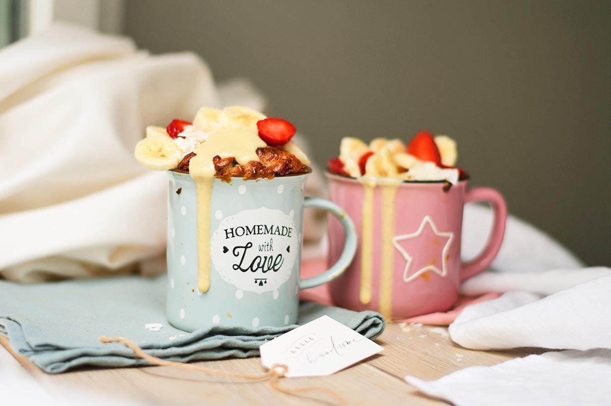Tassenkuchen Mit Beeren Birkengold