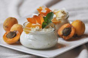 Marillen Dessert, Aprikosen Dessert, Marillen Joghurt Creme, Joghurt Marillen Creme