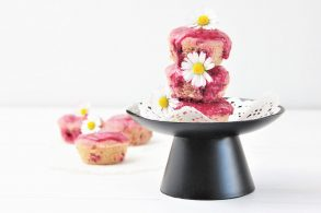 Schoko Himbeer Muffins, Himbeer-Schoko-Muffins mit roter Beete, Himbeer-Schoko-Muffins mit roten Rüben