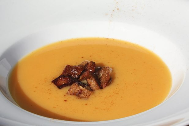 Kürbiscremesuppe, Kürbissuppe, Kürbis Suppe