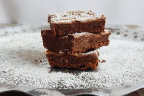 Brownies, Schokokuchen mit Apfelmus, Apfelmus Brownies
