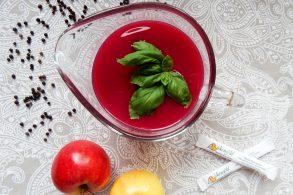Cranberry Dressing, Cranberry-Apfel-Orangen Dressing