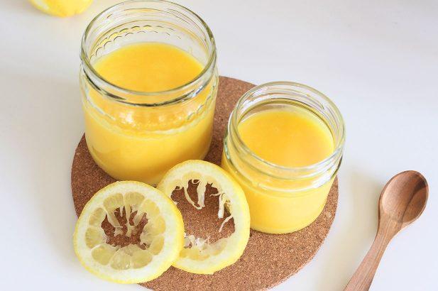 Zitronencreme, Lemon Curd, Puddingcreme, Zitronenaufstrich, Zitronentortencreme