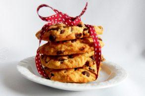 amerikanische Cookies, Chocolate Cookies, amerikanische Schokokekse