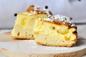 Käsekuchen, Cheesecake, Cheesecake mit Vanillepudding, Käsekuchen mit Vanille