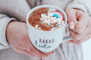 heiße Schokolade, Zuckerfreier Kakao, heiße Trinkschokolade, Trinkschokolade mit Rohkakao