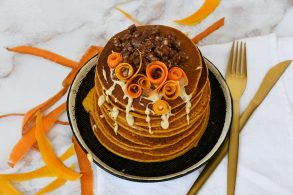 Kürbis Pancakes, Pumpkin Pancakes, Kürbis Pfannkuchen, Pfannkuchen mit Kürbis