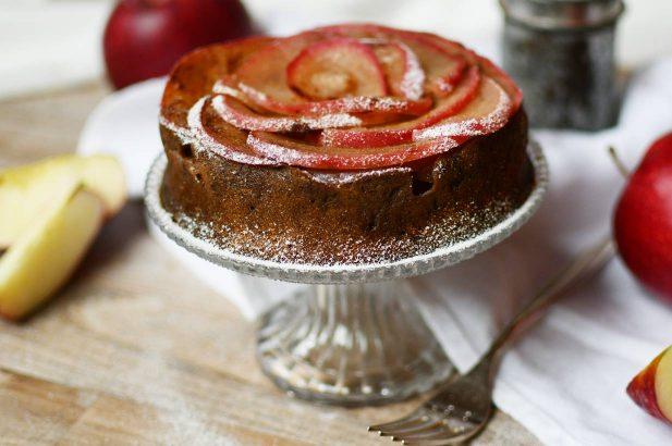 Apfelkuchen zuckerfrei, Apple Pie zuckerfrei, Apfeltorte, Apple Pie, Apple Upside Down Cake, Apfelstrudel
