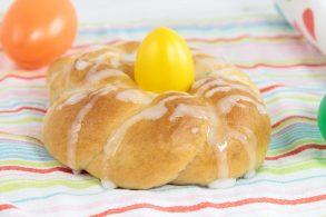 Osternest, Osternest vegan, Osterkuchen, Osterspeise